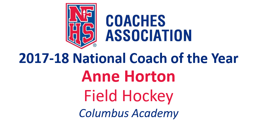 Anne Horton: National Field Hockey Coach of the Year (2017-18)