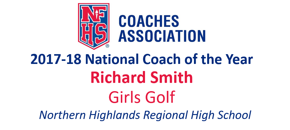 Richard Smith: National Girls Golf Coach of the Year (2017-18)