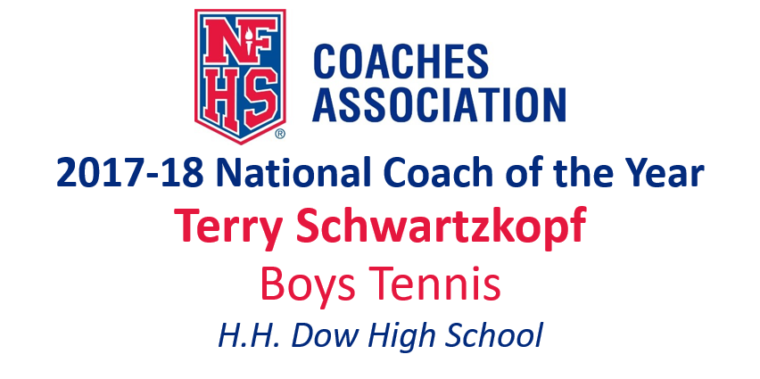 Terry Schwartzkopf: National Boys Tennis Coach of the Year (2017-18)