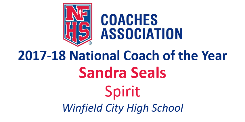 Sandra Seals: National Spirit Coach of the Year (2017-18)